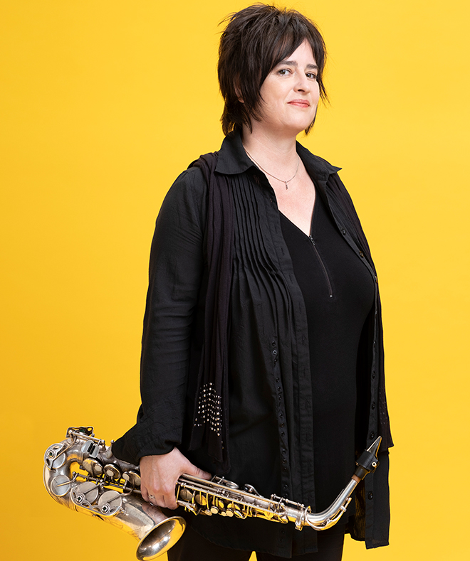 Géraldine Laurent. Photo d'Anthony Voisin