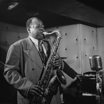 Portrait de Coleman Hawkins © William Gottlieb - Library of Congress