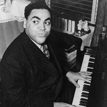 Fats Waller, photo d'Alan Fisher, 1938. Library of Congress