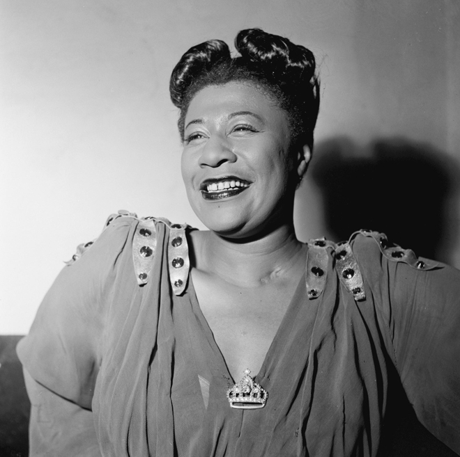 Ella Fitzgerald. Photo : William Gottlieb. Source : Library of Congress