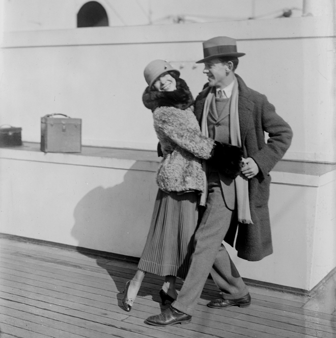 Fred et Adele Astaire. Source: Library of Congress, Prints and Photographs Division