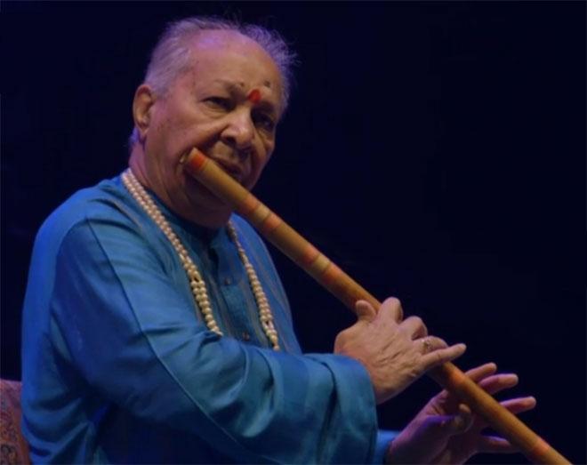 Hariprasad Chaurasia, flûte bansuri, concert enregistré à la Philharmonie de Paris le 31 janvier 2015 © Philharmonie de Paris