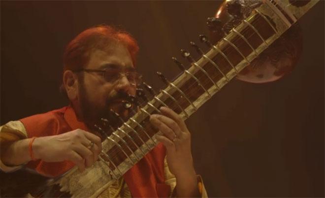 Kushal Das (sitar), concert enregistré à la Philharmonie de Paris le 31 janvier 2015 © Philharmonie de Paris