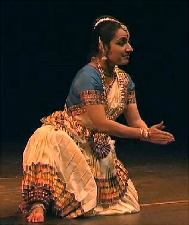 Neena Prasad, danses du Kerala, concert enregistré à la Cité de la musique le 28 septembre 2008 © Philharmonie de Paris