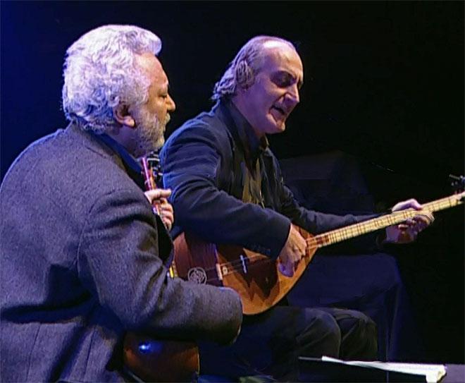 Erkan Ogur et Ismail Hakki Demircioglu, concert enregistré à la Cité de la musique le 25 février 2007 © Philharmonie de Paris