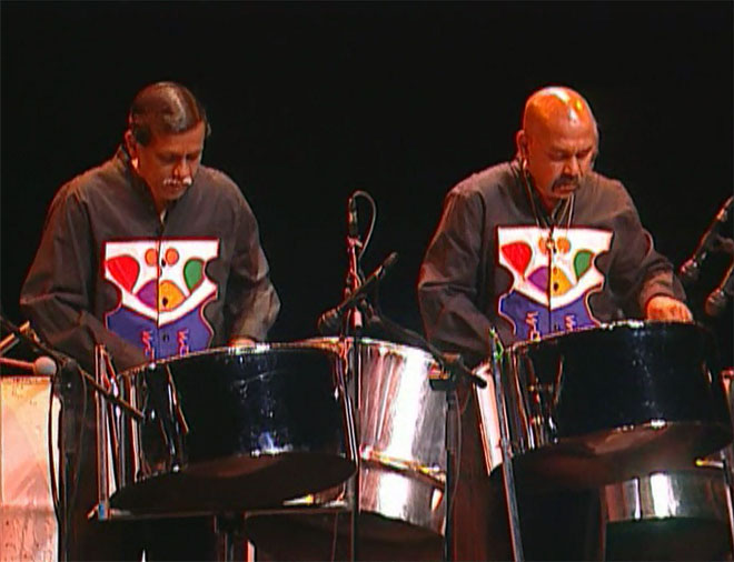 The Samaroo Jets, concert enregistré à la Cité de la musique le 15 février 2004 © Philharmonie de Paris