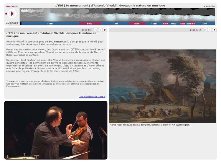 Guide d'écoute sur Concerto pour violon « L'Été »