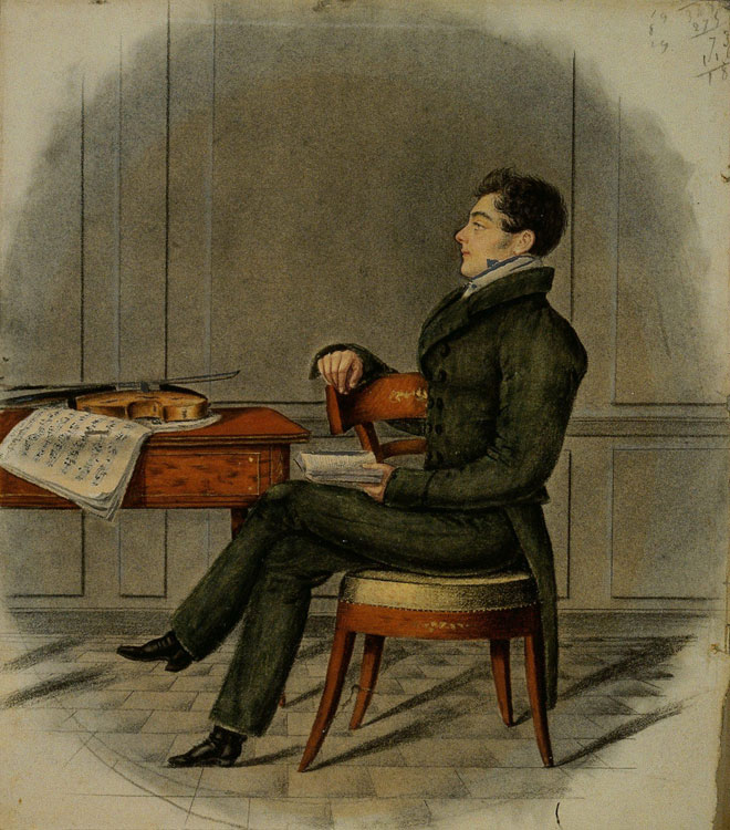 Daniel-François-Esprit Auber. Philharmonie de Paris, photo de J.-M. Anglès