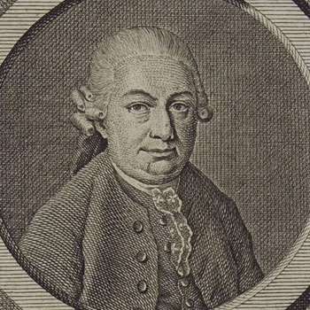 Portrait de Carl Philipp Emanuel Bach |