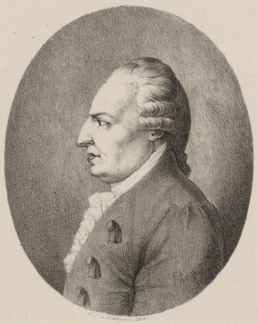 Johann Christian Bach, estampe d'après Heinrich E. von Winter, 1816. Gallica-BnF