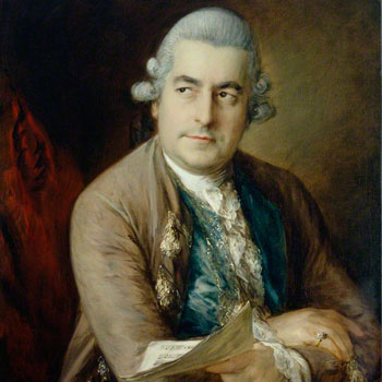 Thomas Gainsborough, Johann Christian Bach, 1776 © National Portrait Gallery London CC