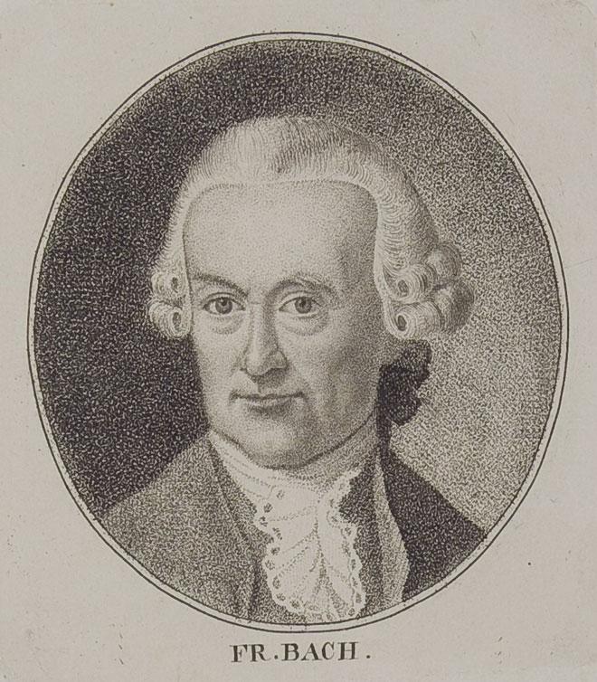 Portrait de Wilhelm Friedemann Bach. Herzog August Bibliothek Wolfenbüttel/CC BY-SA