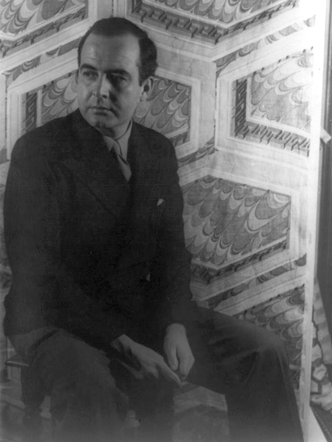 Portrait de Samuel Barber, photographie de Carl Van Vechten, 1944. Library of congress, collection Carl Van Vechten
