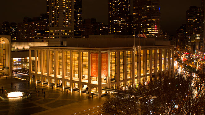 La salle de l'Avery Fisher Hall du Lincoln Center de New York © D. Ramey Logan CC