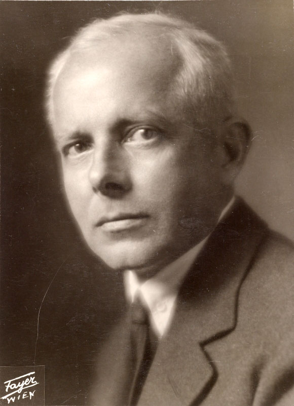 Portrait de Béla Bartók, photo de Georg Fayer, 1930. Österreichische Nationalbibliothek