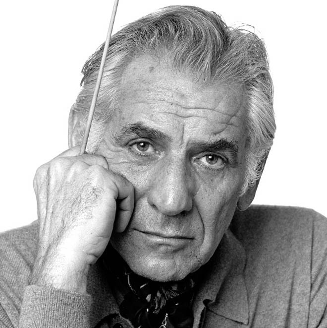 Leonard Bernstein. Photo de Jack Mitchell/CC BY-SA 4.0