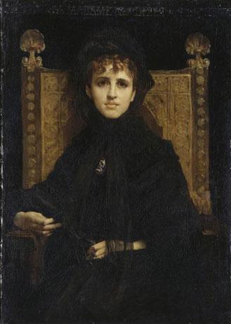 Jules-Élie Delaunay, Portrait de Mme Georges Bizet, 1878 © RMN Grand Palais, Musée d'Orsay, Hervé Lewandowski