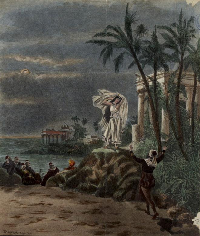 Les pêcheurs de perles, opéra de Georges Bizet, 1863 © Gallica-BnF