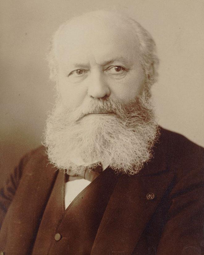 Charles Gounod, par Nadar, 1870-1890. Gallica-BnF