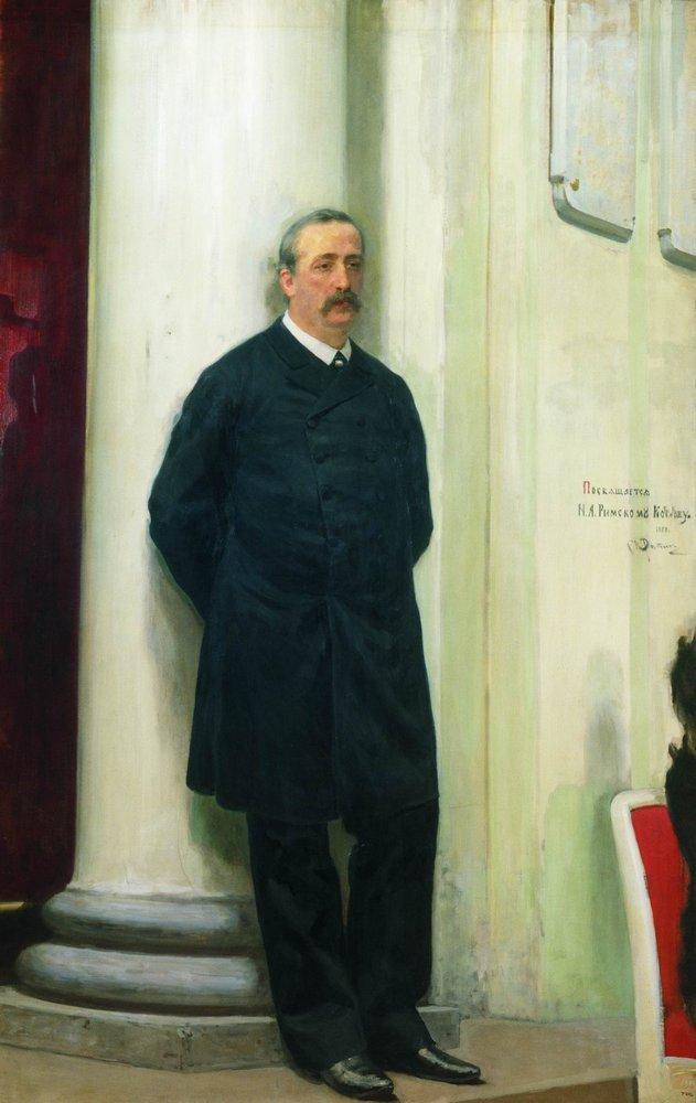 Ilia Répine, Portrait d'Alexandre Borodine, 1888 © The State Russian Museum, Saint-Petersburg