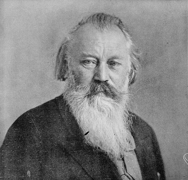 Johannes Brahms © Library of Congress