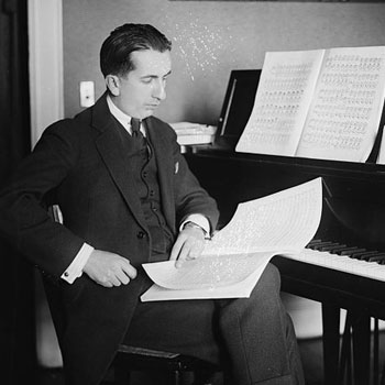 Portrait de Alfredo Casella © Library of Congress