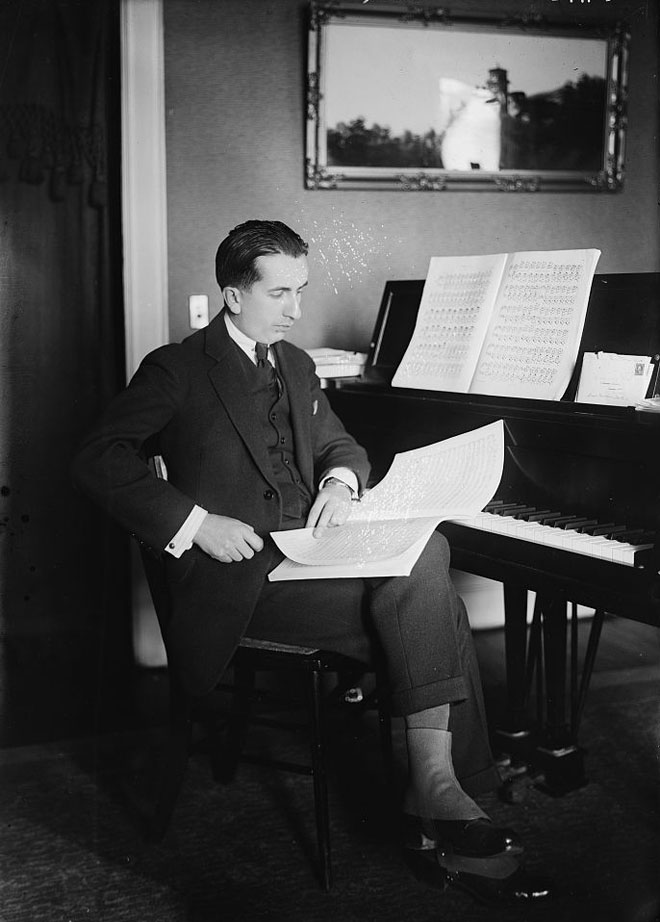 Portrait de Alfredo Casella © Library of Congress