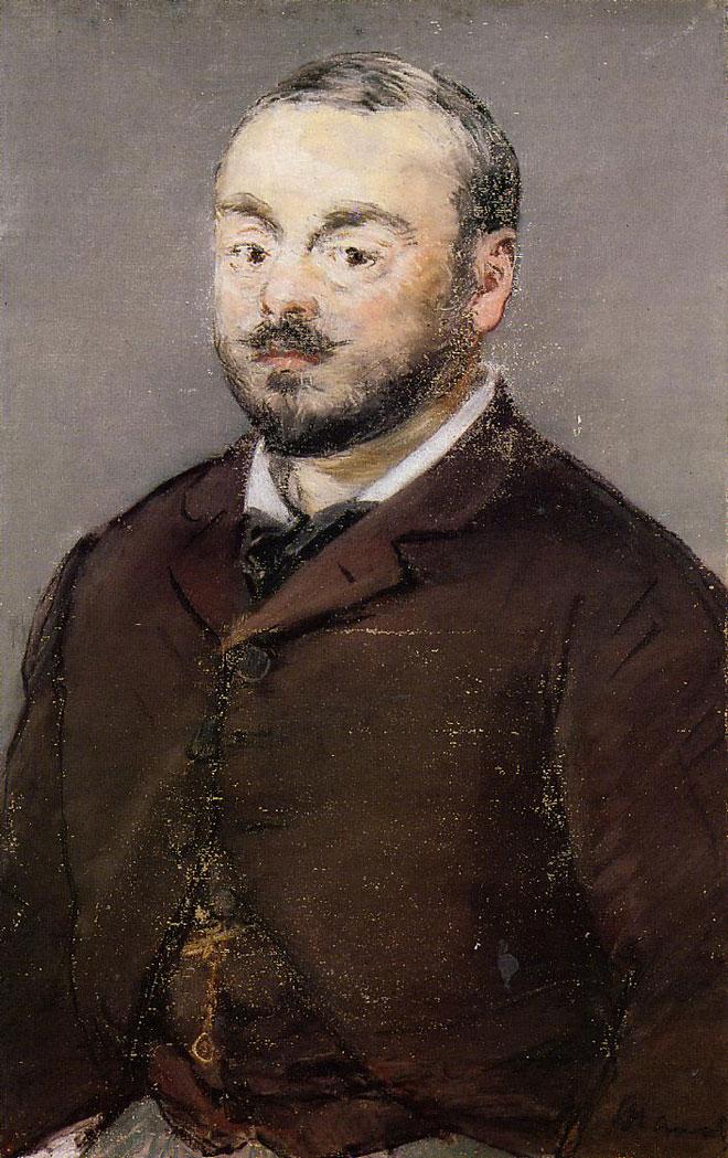 Édouard Manet, Emmanuel Chabrier © Ordrupgaard Art Museum