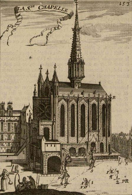 La Sainte-Chapelle © INHA