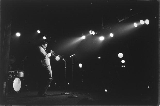 Lisl Steiner, Miles Davis, 1962 © Österreichische Nationalbibliothek