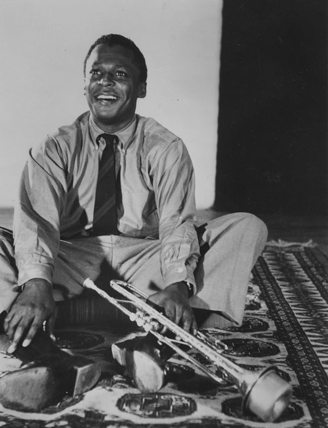 Miles Davis en 1960, photographe non identifié © Smithsonian Institution