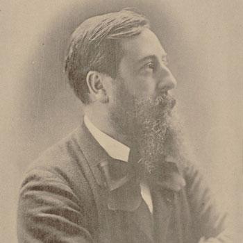 Portrait du compositeur Léo Delibes