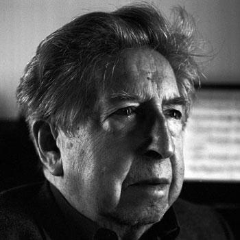 Portrait du compositeur Henri Dutilleux © Coupannec Leemage