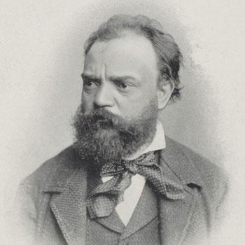 Portrait du compositeur Antonín Dvořák, 1900 © Gallica BnF