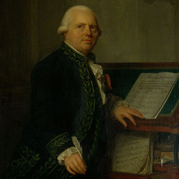 Portrait de François-Joseph Gossec, par Antoine Vestier, vers 1791. Philharmonie de Paris - Musée de la musique, photo de Jean-Marc Anglès