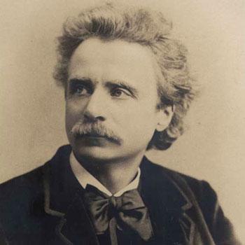 Portrait de Edvard Grieg |