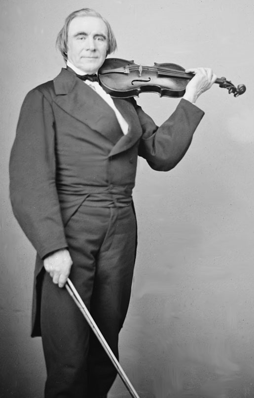 Portrait de Ole Bull © Library of Congress