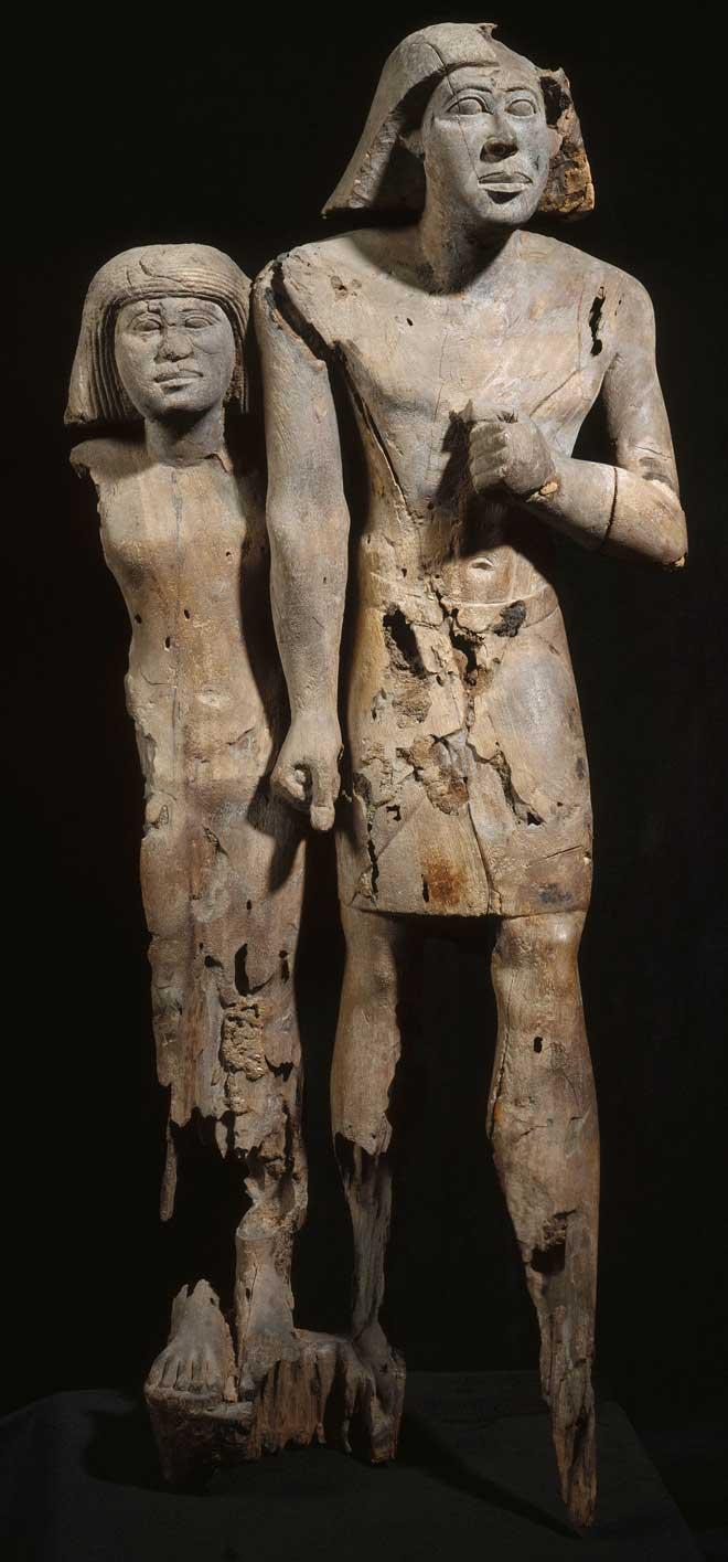 Deux époux © Musée du Louvre