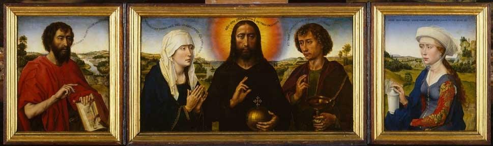 Triptyque de la famille Braque, Rogier van der Weyden © Musée du Louvre