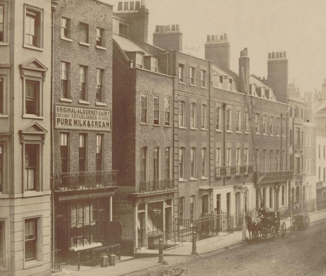 Maison de Georg Friedrich Haendel dans Brook street, Londres © Gallica-BnF