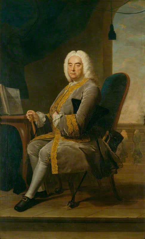 Thomas Hudson, Georg Friedrich Haendel, 1756 © National Portrait Gallery London CC