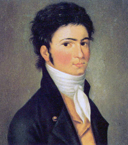 Carl Traugott Riedel, Beethoven, 1801 © DR