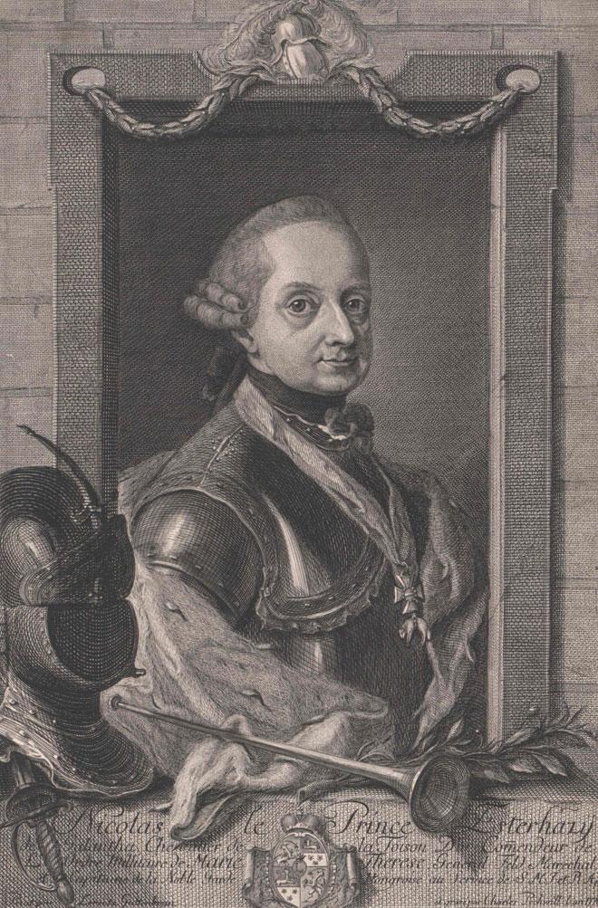 Nicolas Esterhazy © Österreichische Nationalbibliothek