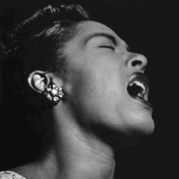 Portrait de Billie Holiday |