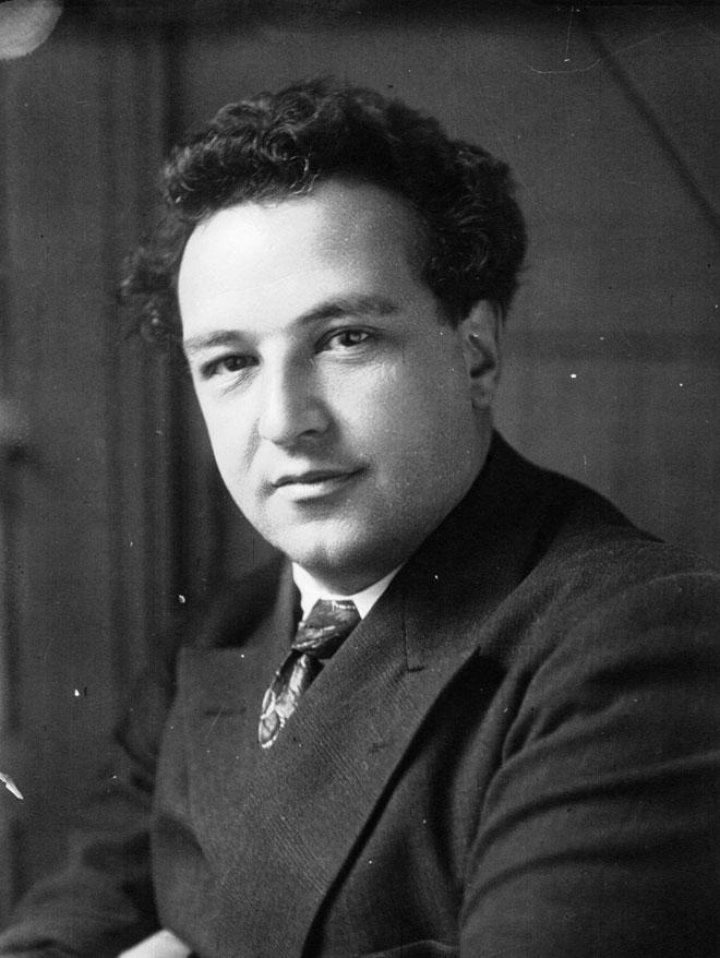 Le compositeur Arthur Honegger, photographie de presse, Agence Meurisse, 1928. Gallica-BnF