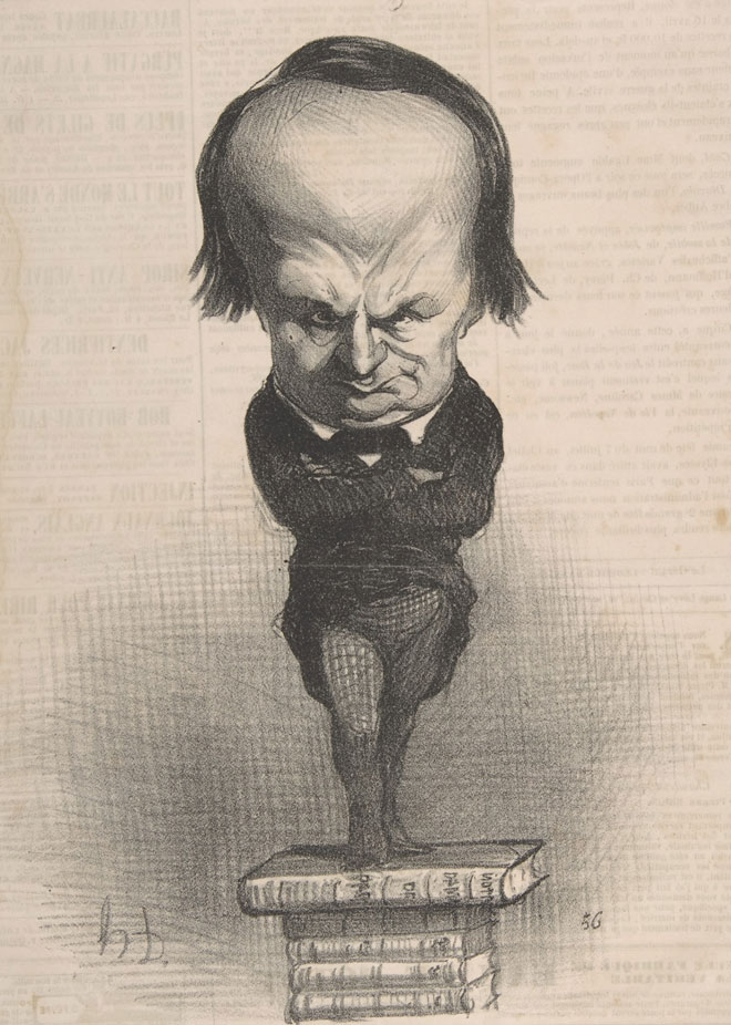 Honoré Daumier, Victor Hugo, 1849 © Metropolitan Museum of Art