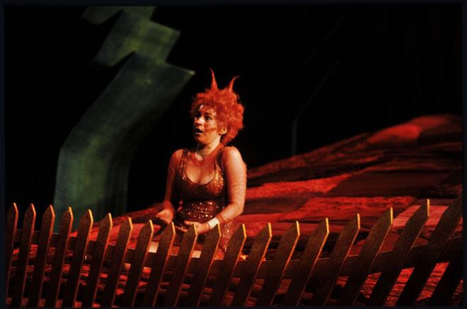 La Petite Renarde rusée, représentation du 29 mai 1995 au théâtre du Châtelet, photographie de Daniel Cande © Gallica-BnF