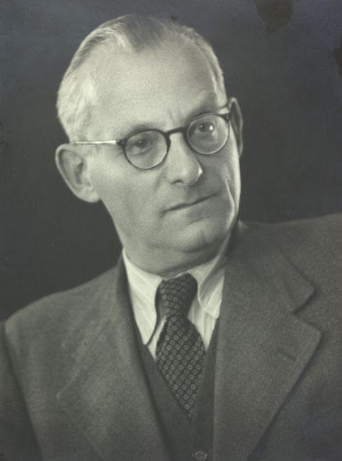 Portrait de Max Brod en 1951 © Österreichische Nationalbibliothek