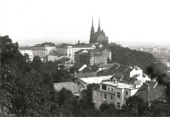 Vue de Brno, 1929 © Deutsche Fotothek
