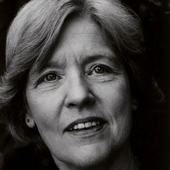 Portrait de Betsy Jolas, photographie de Fernand Michaud, 1986 © Gallica - BnF